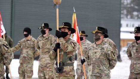 """Krašto apsaugos ministras A. Anušauskas: """"JAV pajėgų buvimas regione išlieka vienu svarbiausių atgrasymo veiksnių"""""""