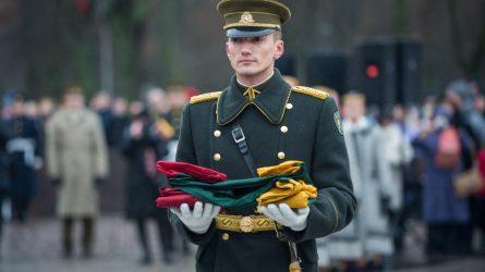 Gedimino pilies bokšto vėliava atkeliaus į Garliavą
