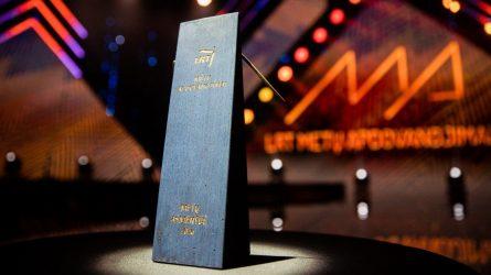 """Paskelbti LRT """"Metų apdovanojimų"""" laimėtojai"""