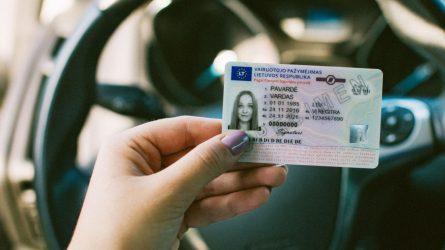 Kada galite pasikeisti vairuotojo pažymėjimą?