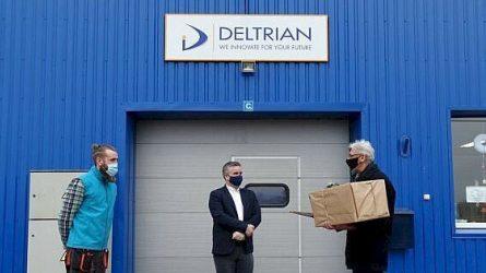"""Bendrovės """"Deltrian"""" padalinio Mosėdyje vadovas Vaidotas Grikšas: """"Skuodo krašte privalome būti bendruomenės dalimi"""""""