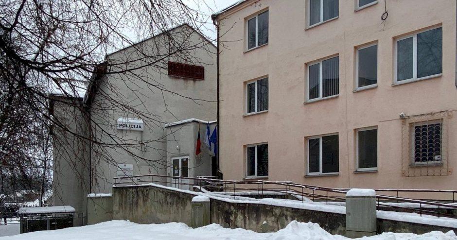 Uždaroma Utenos apskrities vyriausiojo policijos komisariato areštinė