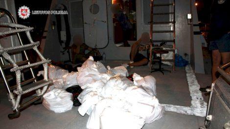 Sulaikyti organizuotos nusikalstamos grupuotės nariai, organizavę ir vykdę narkotinių medžiagų kontrabandą tarptautiniu mastu