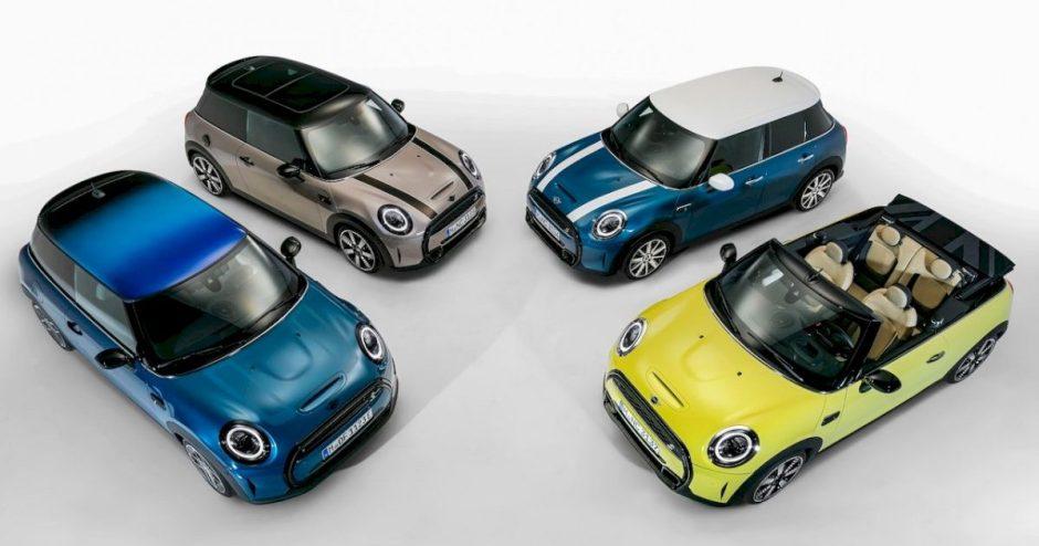 """Atnaujinti """"Mini"""" modeliai turės daugiaspalvį stogą"""