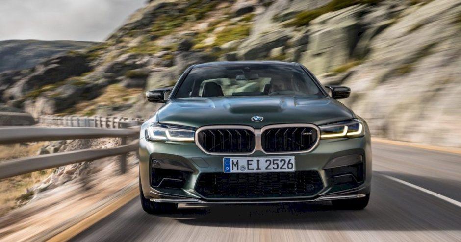 """BMW išleis galingiausią M modelį – """"BMW M5 CS"""""""