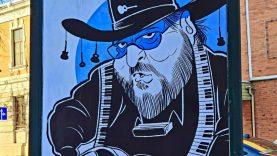 Šiaulių muzikantų karikatūriški portretai – viešosiose Šiaulių miesto erdvėse