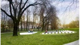 Netrukus prasidės naujos rekreacinės teritorijos Vilkaviškio mieste statybos darbai!
