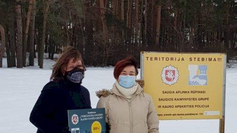 Tarp visos Lietuvos veikliausių saugios kaimynystės grupių – kauniečiai
