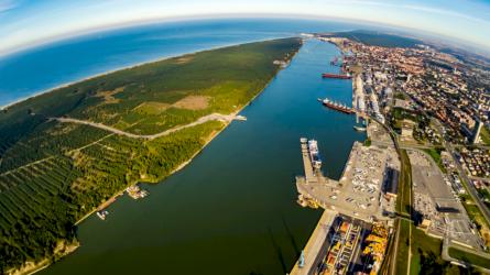 Klaipėdos jūrų uoste prasidėjo gilinimo darbai