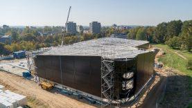 Bus atnaujintos Lazdynų baseino statybos