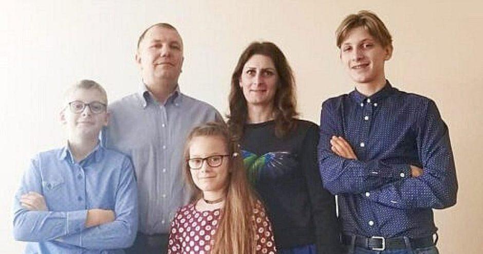 """Dianai ir Alvydui Dabravalskiams – """"Metų šeimos 2020"""" titulas"""