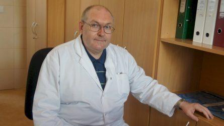 Pro memoria  Viktorui Skromovui   (1963 02 26 – 2021 02 17)          Staigi gydytojo netektis prislėgė visus
