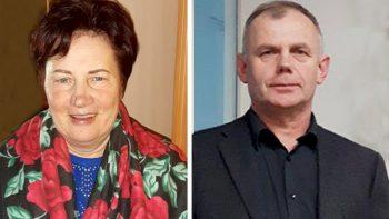 Premijų laureatai – Antanas Viskantas ir Genoveita Gricienė