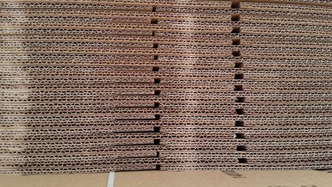 Gofruotas kartonas – populiariausia pakuočių gamybos žaliava