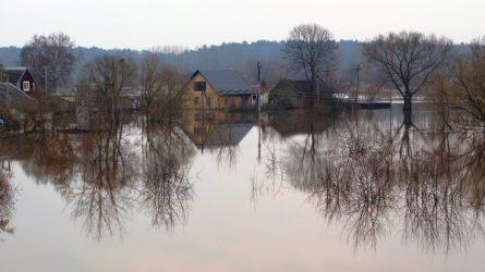 Ateityje potvyniai dažnės ne pavasarį, o po stichinių liūčių