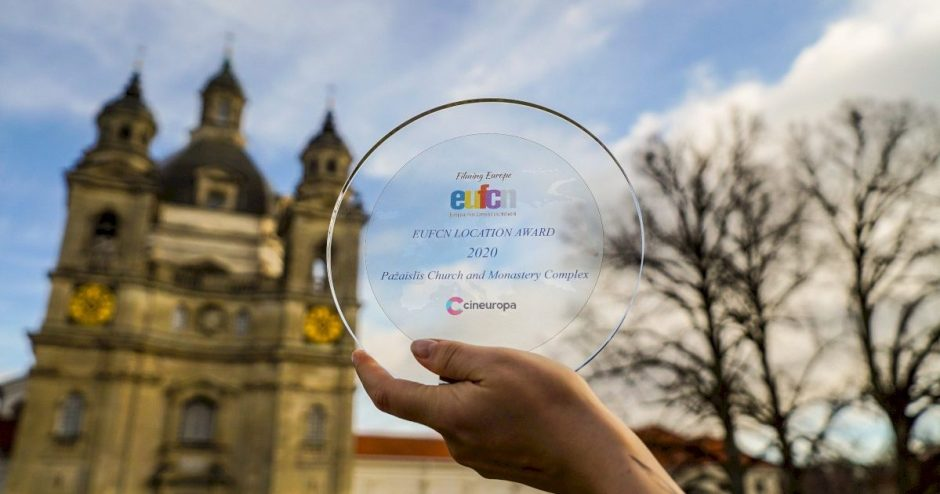 Išskirtinė diena Kaunui: Pažaislis pripažintas geriausia 2020-ųjų Europos kino lokacija