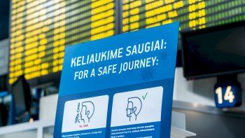 Visi į Lietuvą iš užsienio atvykstantys keleiviai privalės turėti neigiamą COVID-19 tyrimo atsakymą