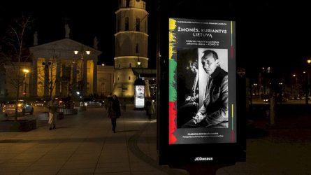 """Kovo 11-ąją Vilnius pasitinka unikalia paroda – """"Žmonės, kuriantys Lietuvą"""""""