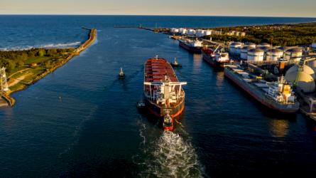 Paskelbtas konkursas į Klaipėdos uosto kapitono pareigas