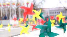 Nepriklausomybės gimtadienį į Šiaulius atnešė laisvės vėjas!