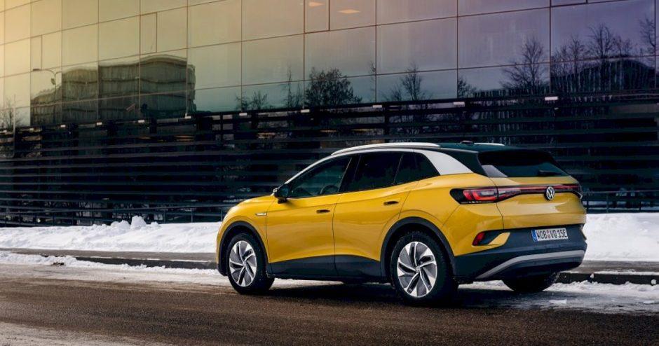 """""""Volkswagen"""" ID. šeimos automobiliai atsinaujins nuotoliniu būdu"""