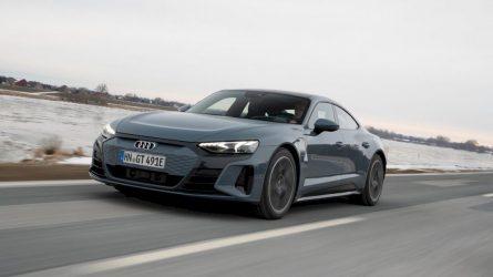 """Lietuvoje jau galima užsisakyti naująjį """"Audi e-tron GT"""""""