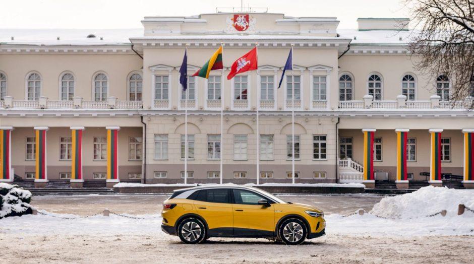"Elektrinis ""Volkswagen"" visureigis ID.4 jau Lietuvoje"