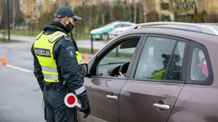 Klaipėdos apskrities kelių policijos priemonių rezultatai