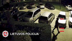 Klaipėdos kriminalistai sulaikė du asmenis įtariamus tyčia sugadinus svetimą turtą visuotinai pavojingu būdu