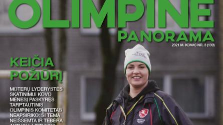 """""""Olimpinėje panoramoje"""" – apie moterų lyderystę, olimpines krepšininkų ir lengvaatletės viltis"""
