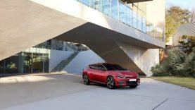 """""""Kia"""" pristato naujos kartos elektromobilį EV6"""