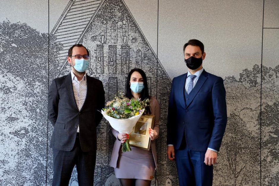 """""""Metų specialisto"""" apdovanojimas atkeliavo į Kauno rajoną"""