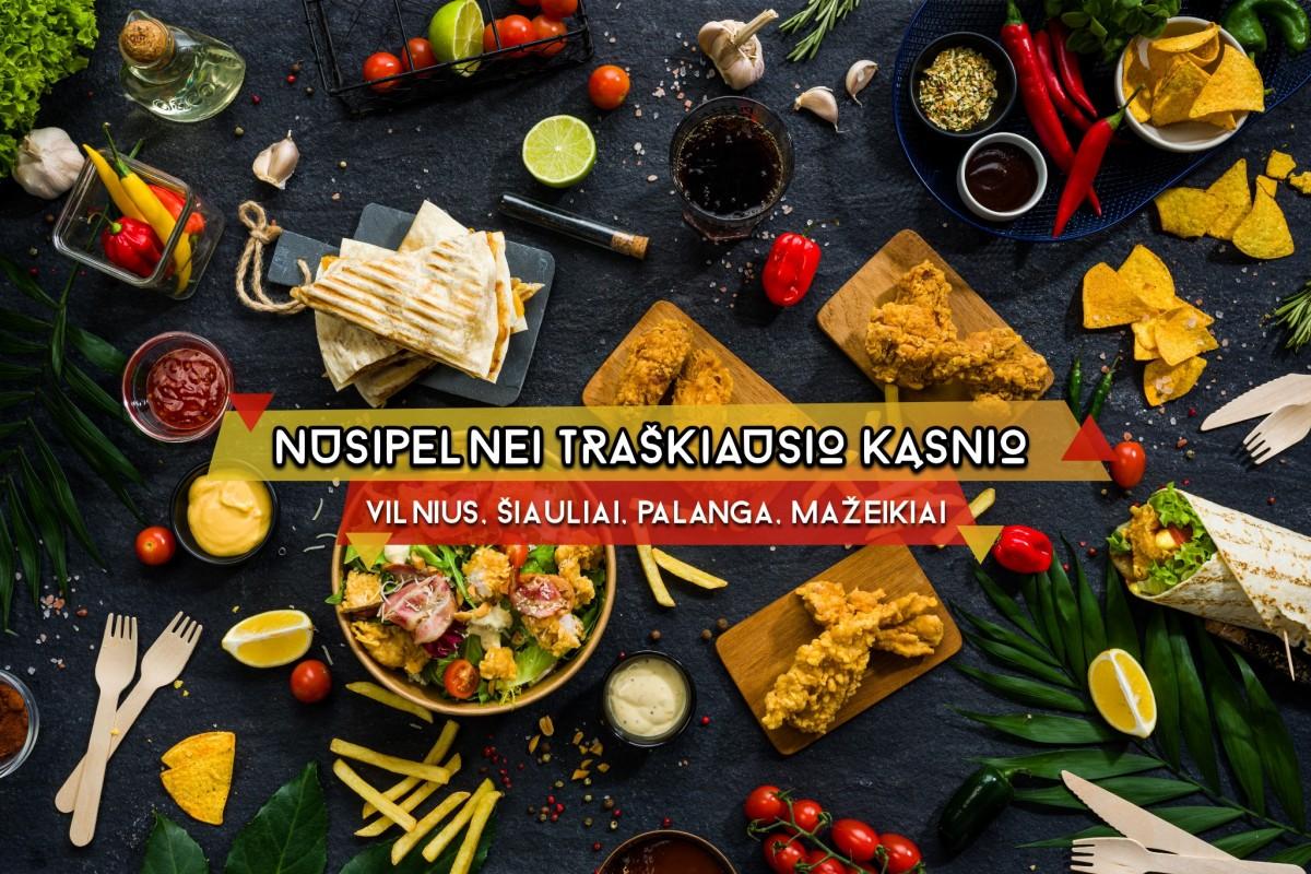 Maistas į namus Šiauliuose - Crisperia.lt facebook paskyros nuotrauka