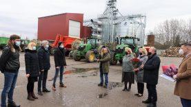 Meras dėkojo didžiausią pažangą padariusiems ūkininkams