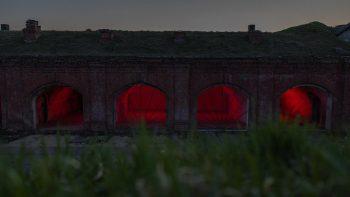 Kauno tvirtovės I forte Ringauduose – draugiška meninė instaliacija šikšnosparniams ir ne tik