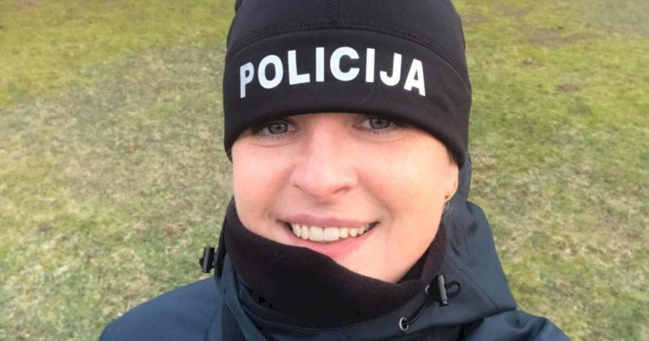 Policijos mokyklos kursantė padėjo išgelbėti motociklininko gyvybę