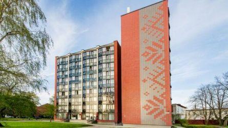 Vietoj tipinio sovietinio devynaukščio – renovuotas namas su senamiesčio dvasia