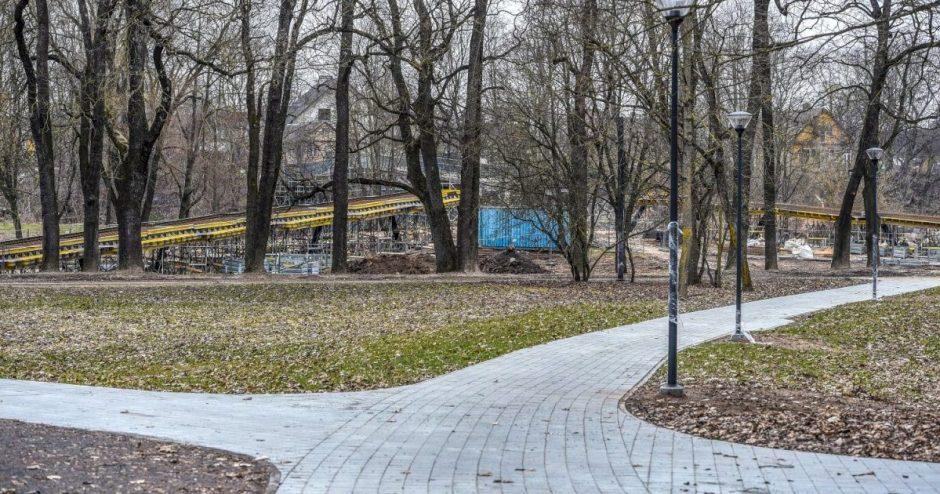 Panevėžys atsinaujina! Įsibėgėja Skaistakalnio parko rekonstrukcijos darbai
