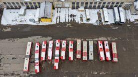Atgimsta dar vienas kvartalas: Verkių autobuso parkui ieškoma ateities vizija