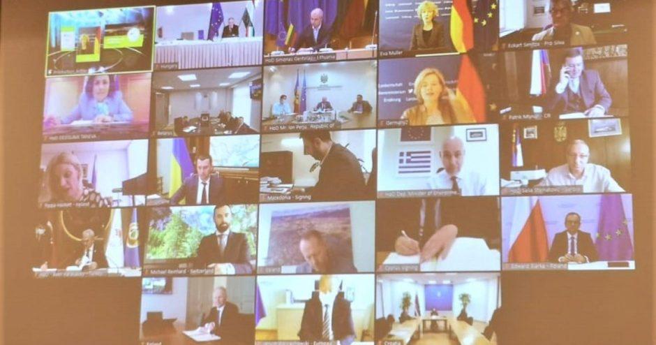 """Aplinkos ministras pasirašė """"Europos miškų"""" deklaraciją"""