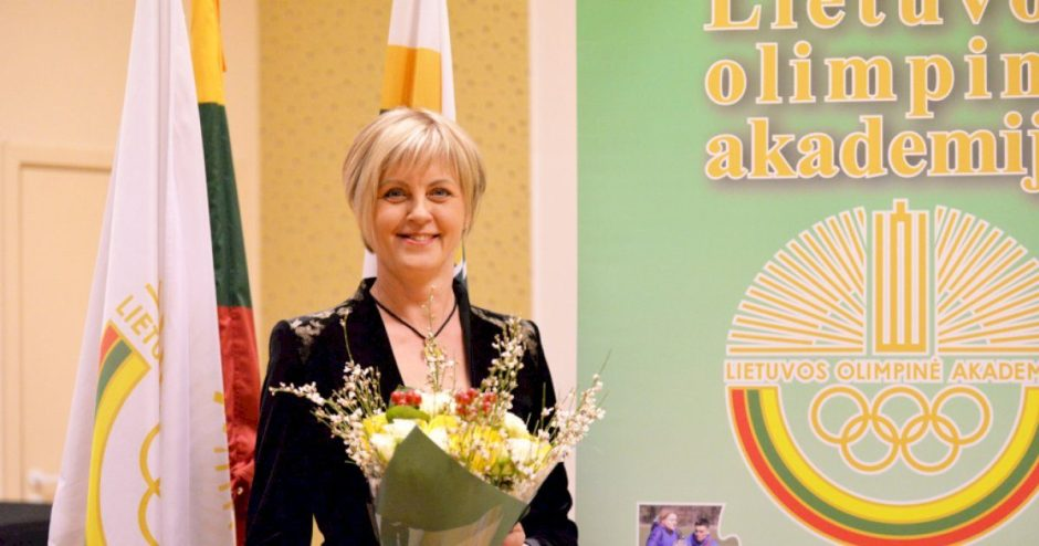 Naujoji Lietuvos olimpinės akademijos vadovė tęs tradicijas ir diegs naujoves