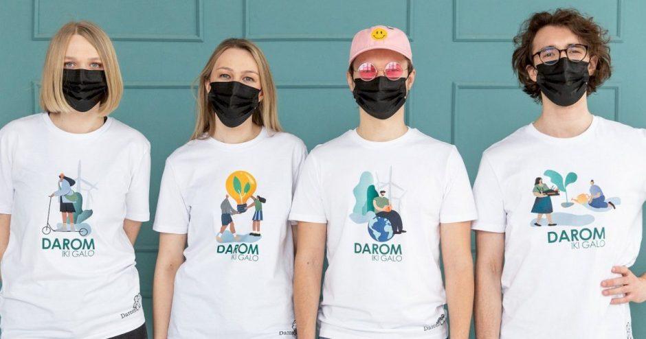 """Akcija """"Darom"""" grįžta su nauja komanda, išmaniąja programėle bei nauju akcijos formatu"""