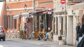 Dalis Senamiesčio gatvių atiduodamos pėstiesiems