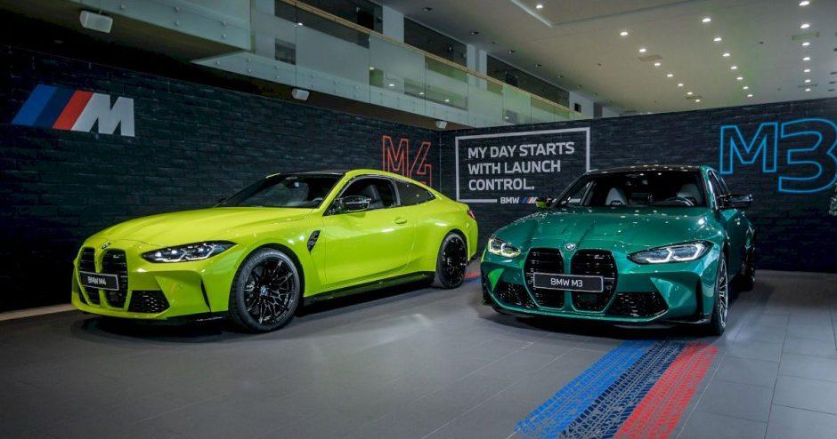 """Lietuvoje debiutuoja naujos kartos """"BMW M3"""" ir """"M4 Coupe"""" modeliai"""