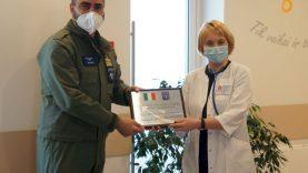 NATO karių parama Vaikų ligų klinikos pacientams