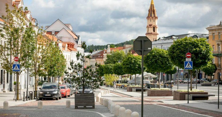 Vilnius pradeda antrąjį kilpinio eismo organizavimo etapą