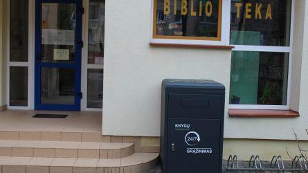 Šiaulių miesto savivaldybės viešosios bibliotekos skaitytojų patogumui – knygų grąžinimo dėžės
