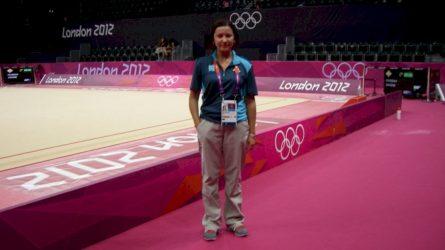 Gimnastų šeimos kelyje – olimpiniai pėdsakai