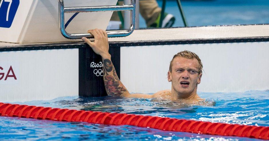 Plaukikas Giedrius Titenis