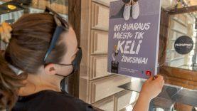 Vilniaus barai ir kavinės kviečia prisidėti prie švaros mieste palaikymo